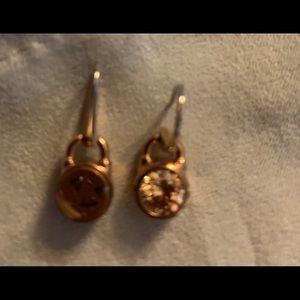 Michael Kors a dangle earrings